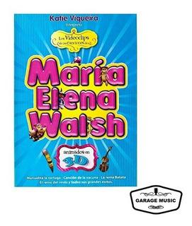 Los Videoclips De María Elena Walsh Vol. 1 (dvd) Ya Musica