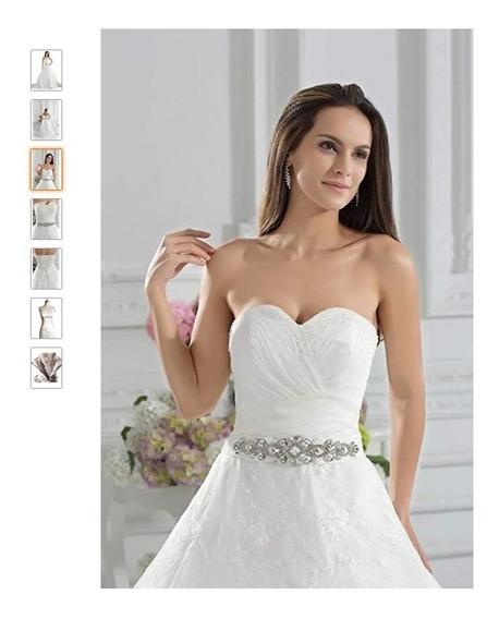 Vestido De Novia Importado George Bride Nuevo Talla 2