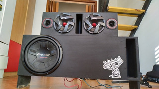 Caja De Car Audio Profesional