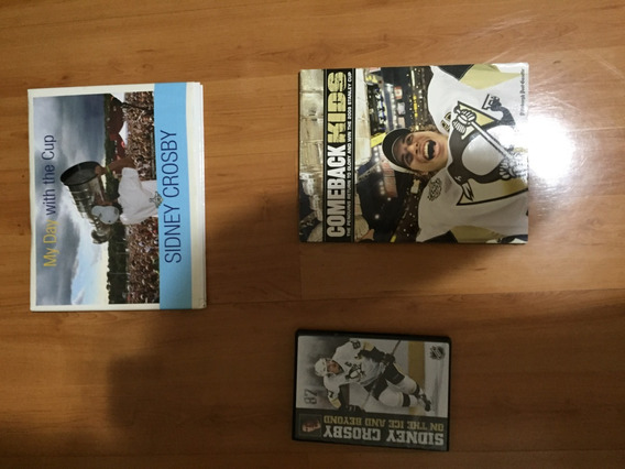 Dvd, Revista, Livro Encadernado - Lote Pittsburgh Penguins