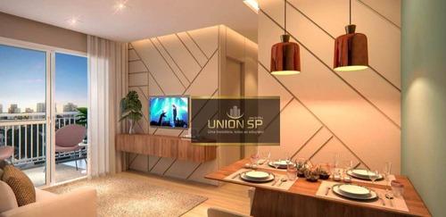 Apartamento Com 2 Dormitórios À Venda, 55 M² Por R$ 485.840,00 - Sacomã - São Paulo/sp - Ap47225