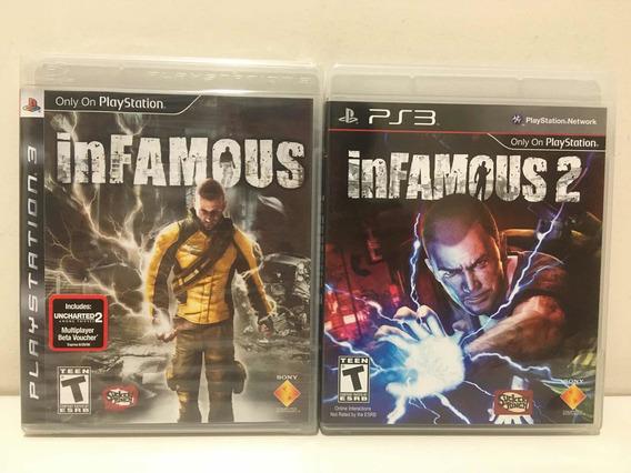 Infamous Sony Playstation 3 Ps3 Novo Lacrado