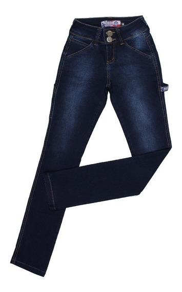 Calça Carpinteira Feminina Rodeo Western Azul 24644