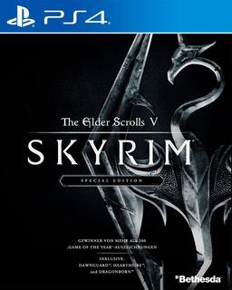 The Elder Scrolls V Skyrim Special Edition Ps4 Digital Gcp