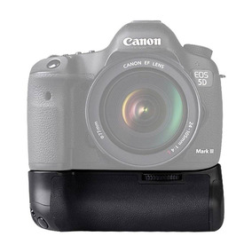 Grip Meike Canon 5d Mark Iii Mk-5d Usa 2 Bateria Ou 6 Pilhas