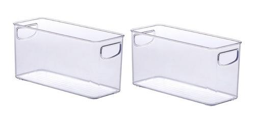 Organizador Multiuso Diamond Cristal Paramount 2 Peças 901