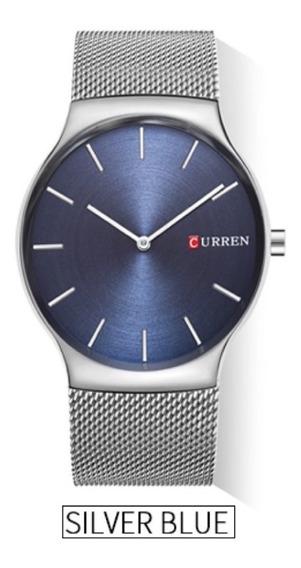 Relógio Masculino Social Luxo Original Curren + Caixa