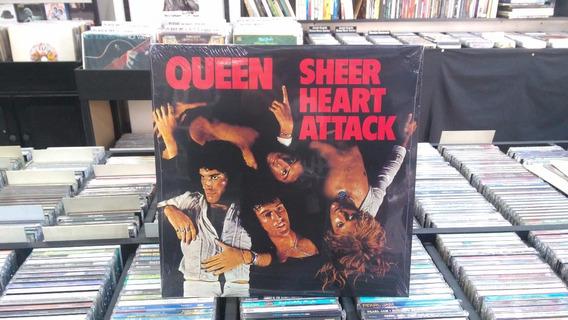 Lp - Queen - Sheer Heart Attack - Imp - Lacrado