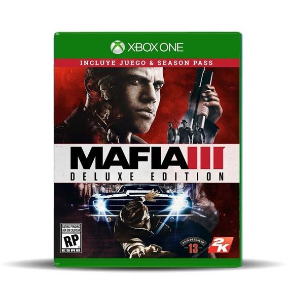 Jogo Lacrado Mídia Fisica Mafia 3 Pase De Temporada Xbox One