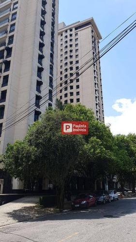 Flat Com 1 Dormitório Para Alugar, 45 M²  - Campo Belo - São Paulo/sp - Fl0210
