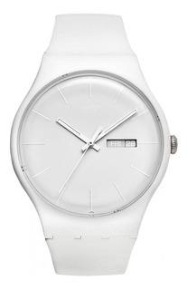 Reloj Swatch Dama White Rebel Suow701 + Envio Gratis