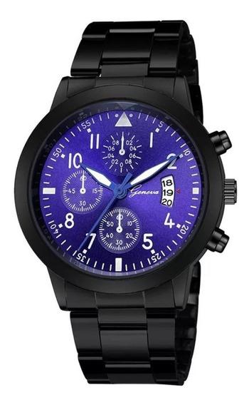 Relógio De Pulso Masculino Esportivo Militar De Luxo Racer Premium Original Racer Preto Geneva Preço Promocional Top