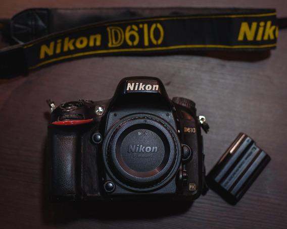 Camera Nikon D610 - Full Frame (corpo)