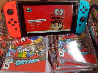 Entrega Hoy Super Mario Odyssey Switch - Nuevos Y Sellados