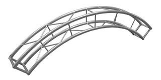 Estructura Circular Cuadrada 24x24 Cm X Tramo Jk4 K946