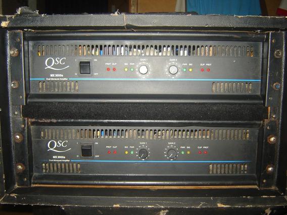 Power Amplificador Qsc Mx3000a Linea Azul