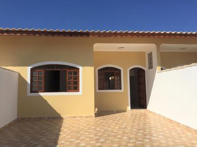 Casa Nova Lado Praia Com 3 Dormitórios/suíte, Churrasqueira