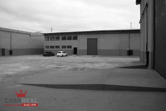 Barracão Comercial Para Locação, Cidade Industrial, Curitiba. - Ba0010