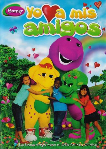 Barney Yo Amo A Mis Amigos Pelicula Dvd