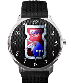 Relógio Paraná Clube Furacão Tricolor Da Vila Futebol Bola