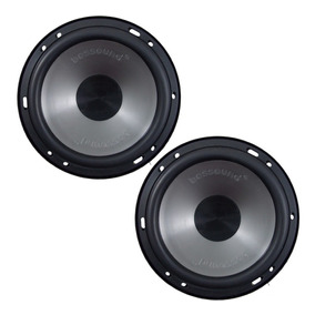 Par Alto Falante Mid Bass Bossound Bs16-mb 200w Rms 4 Ohms