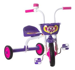 Bicicleta 03 Rodas Várias Cores Infantil Menino Ou Menina