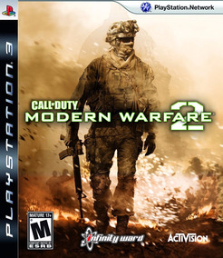 Game Ps3 Call Of Duty Modern Warfare 2 - Original - Novo
