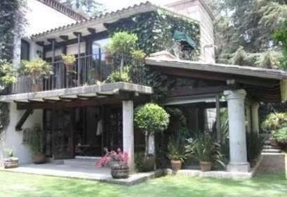 Casa En Venta Club De Tenis San Francisco (san Bartolo Ameyalco)