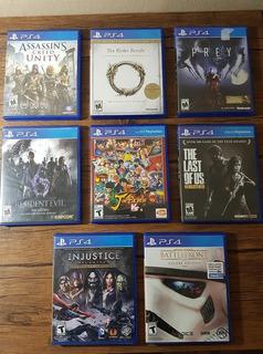 Remate De Juegos Playstation 4 Ps4 Originales !!!