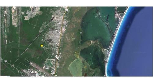 Terreno En Venta En Esquina Calle Chapultepec Alfredo V. Bonfil Cancun C1645