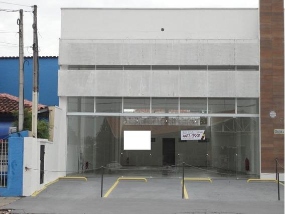 Salão Para Alugar, 257 M² Por R$ 6.000/mês - Vila Thais - Atibaia/sp - Sl0008
