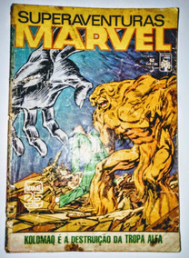 Hq - Superaventuras Marvel - Nº 52 (desgastada)