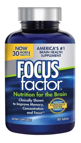 Focus Factor Suplemento Para Memoria 180 Cáps