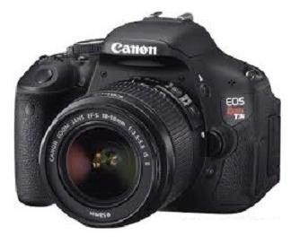 Câmera Fotográfica Dslr Canon Rebel T3i