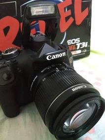 Canon T3i + Lente 18-55 Mm - Menos De Mil Clicks