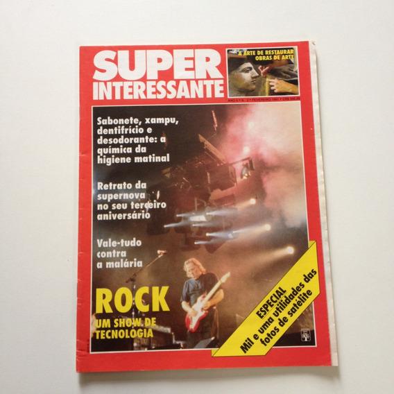 Revista Super Interessante Rock Um Show De Tecnologia N°02