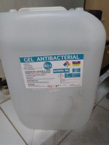 Gel Antibacterial 40 Litros Mayoreo 70% Alcohol Envio Inmedi