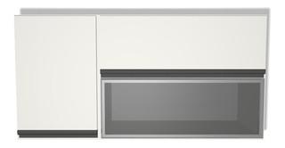 Mueble De Cocina Alacena 120 X 60 X 30 Vidrio / Rebatible