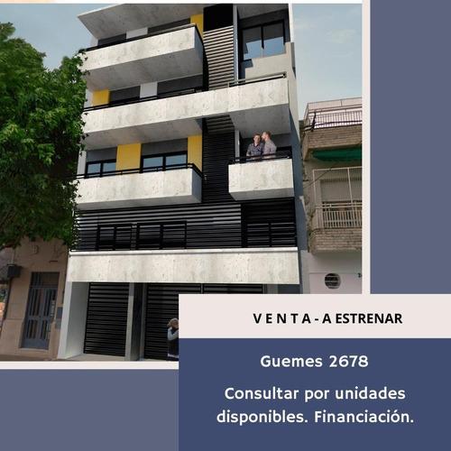 Departamento Un Dormitorio En Construcción Guemes/rodriguez