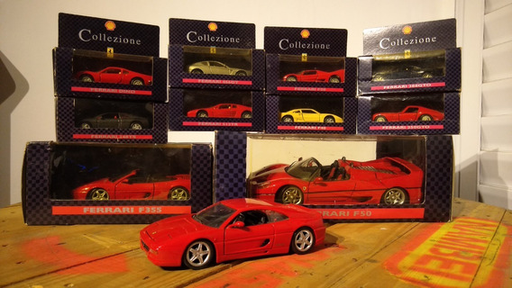 Coleção Completa Ferrari Shell Collezione 1996 + Brinde