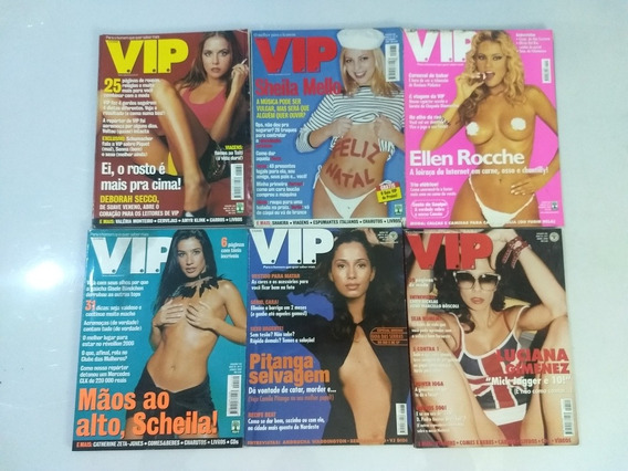 Ellen Roche Na Revista Vip Exame .