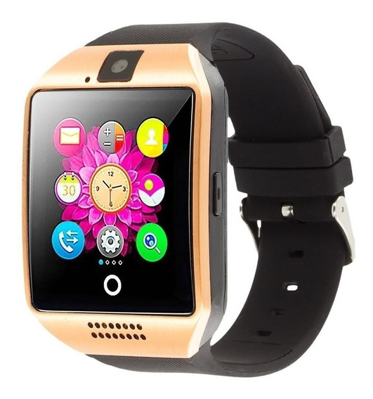 Reloj Inteligente Q18 Curvo Smartwatch Solo Bluetooth No Sim