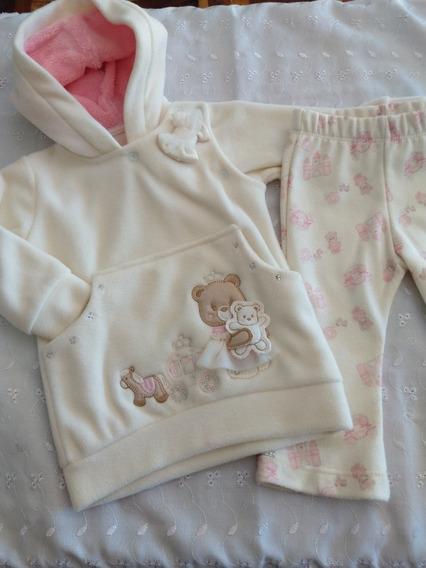 Conjunto Bebê Menina Blusa/calça Pronta Entrega - Frete Grat