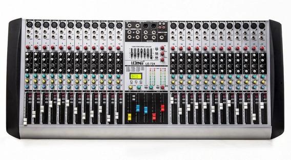 Mesa De Som 24 Canais Dj Usb Mixers Mp3 Digital Boa E Barata