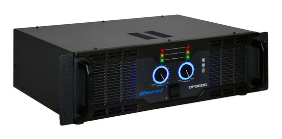 Amplificador Potência Oneal Op 3600 Bivolt 700 Wts