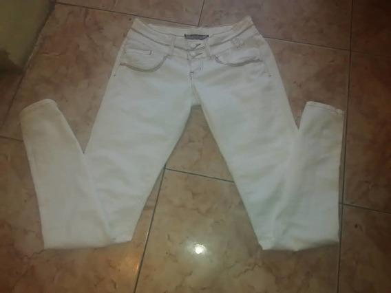 Pantalón Jean Para Dama Talla 8 Color Blanco Extres