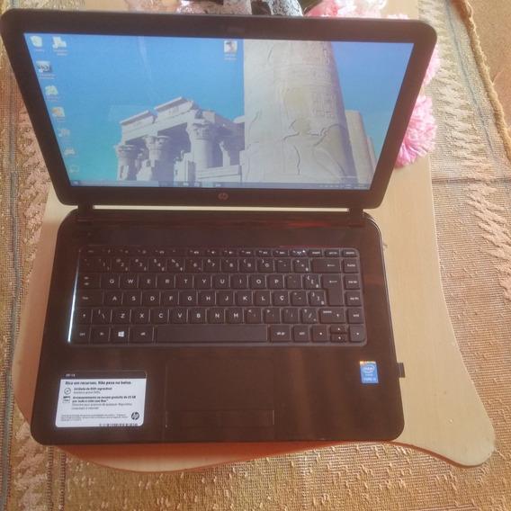 Notebook Hp 14 E Processador I3 Com A Caixa ,aceito Troca !