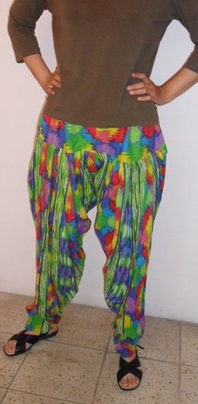 Pantalón Tipo Patiala Saiwar Auténtico De La India