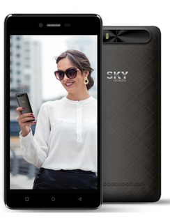 Smartphone Sky Platinum 5.0m / Quad Core / 16gb, Android 7.0