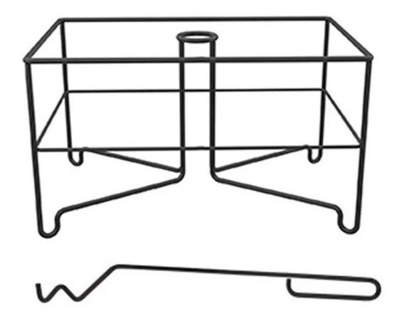 Grillex Braseador 3523r - Aerador Carvão - Brasa Rapida